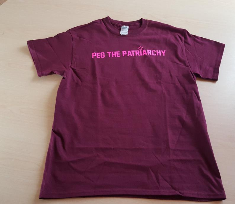 Maroon Peg The Patriarchy® T-Shirt