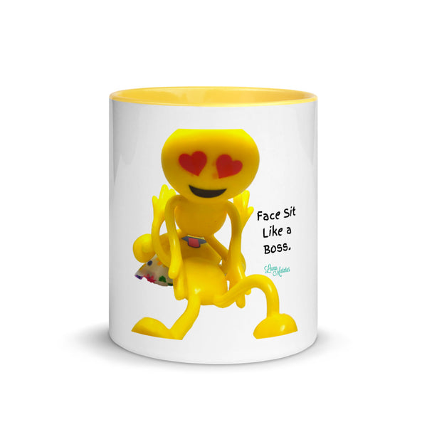Face Sit Like a Boss Pornmoji Mug