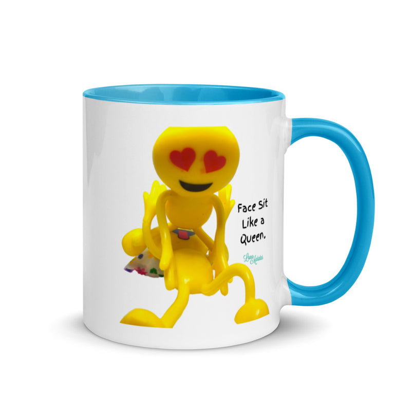 Face Sit Like a Queen Pornmoji Mug