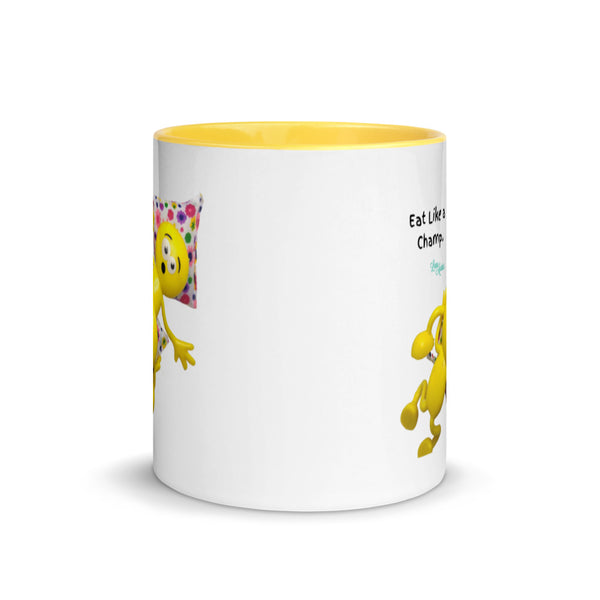 Eat Like a Champ Pornmoji Mug