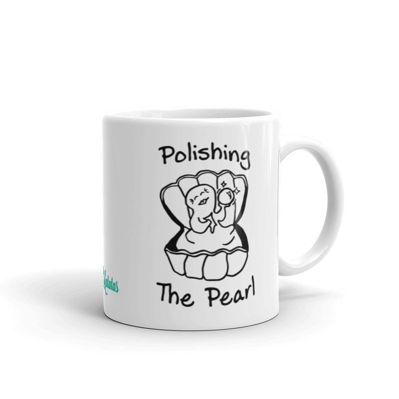 Polishing the Pearl Mug