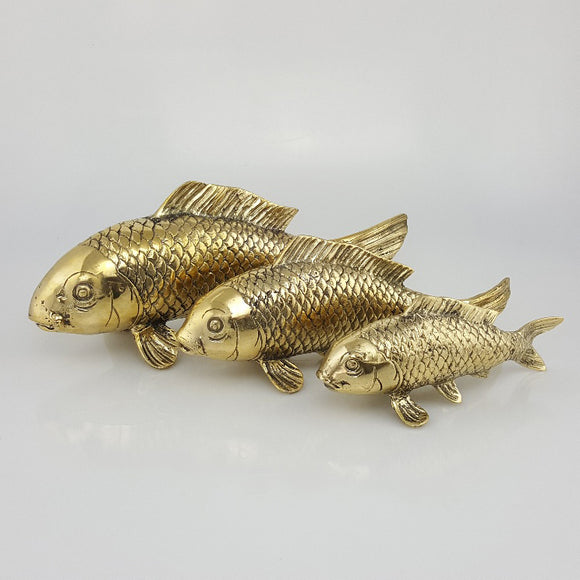 Brass Koi Fish - various sizes
