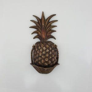 Pineapple Door Knocker - Brass