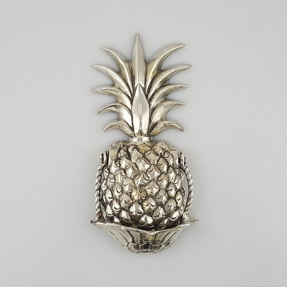 Pineapple Door Knocker - Silver