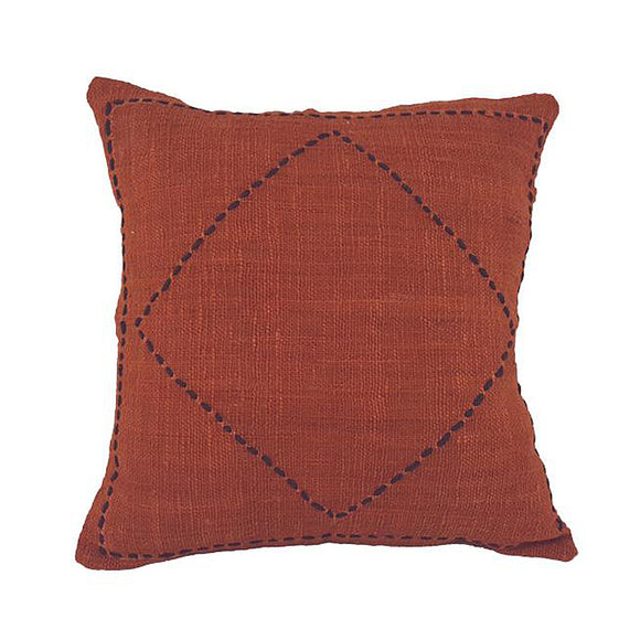 Jose Cushion Cover - Ochre Black