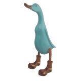 Wooden Ducks with Boots - Tiffany