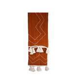 Jose Ochre Throw - Creme Accent