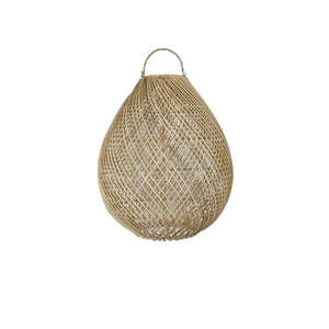 Light Pendant Rattan Egg - Natural