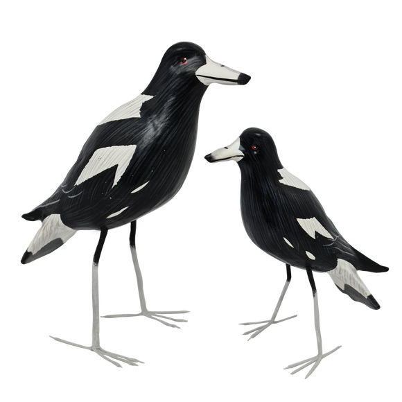 Wooden Magpies