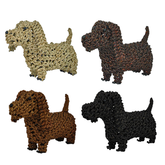 Rope Dachshund - various colours