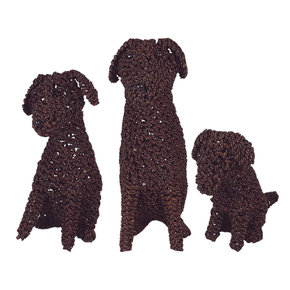 Rope Puppy Chocolate - various sizes