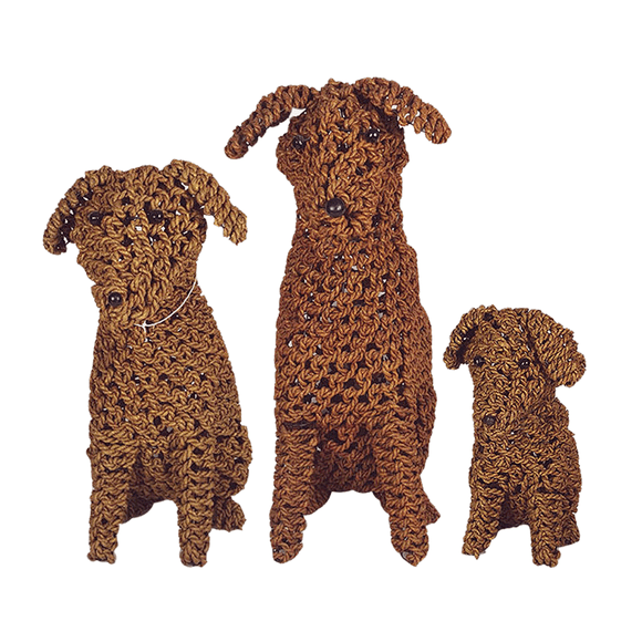 Rope Puppy Cinnamon - various sizes