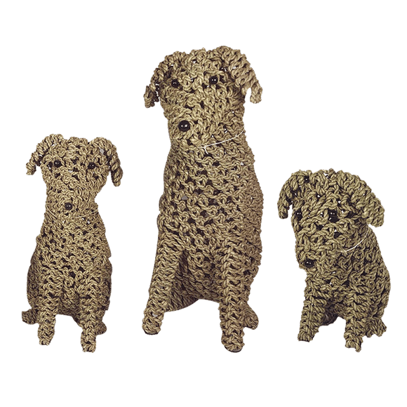 Rope Puppy Natural - various sizes