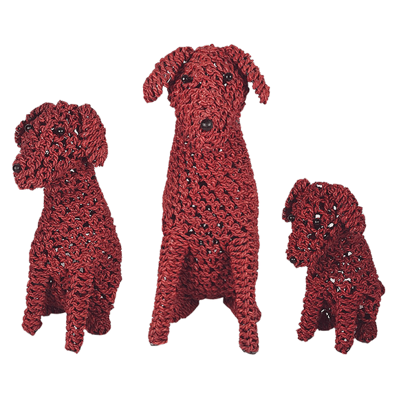 Rope Puppy Red - various sizes