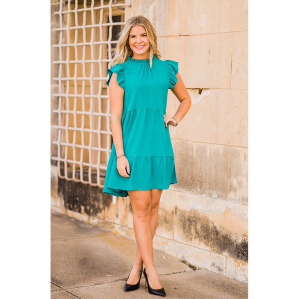 Dream of the Sea Dress-Four Sisters Boutique