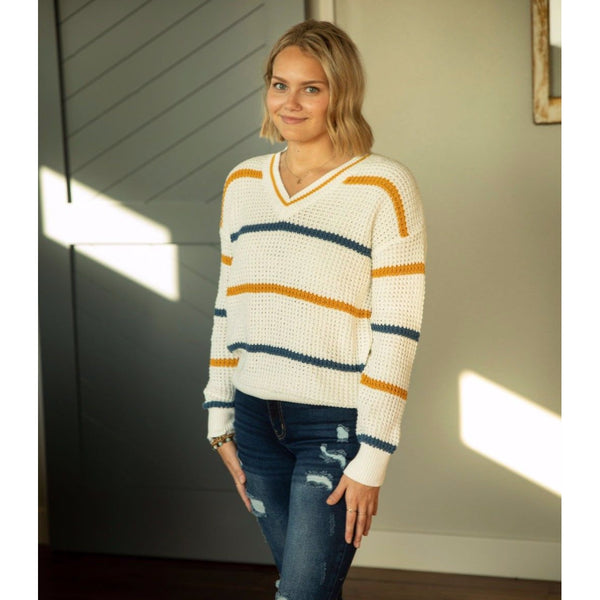Golden Day Sweater-Four Sisters Boutique