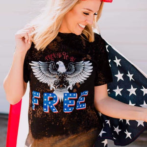 Proud to Be Free Tee ***PREORDER***-Four Sisters Boutique