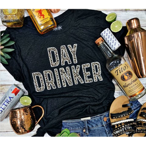 Day Drinker Tee-Four Sisters Boutique