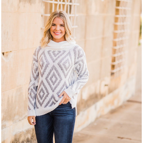 Fair Isle Sweater-Four Sisters Boutique