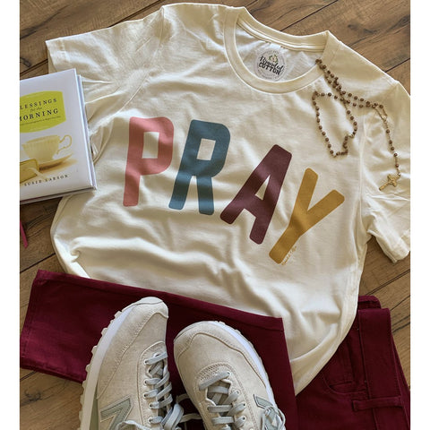 PRAY Tee-Four Sisters Boutique