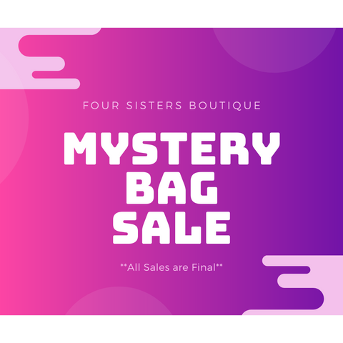 Mystery Bag Sale - 5 for $55.55-Four Sisters Boutique