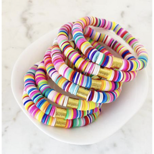Color Pop Bracelet - Multi Rainbow-Four Sisters Boutique