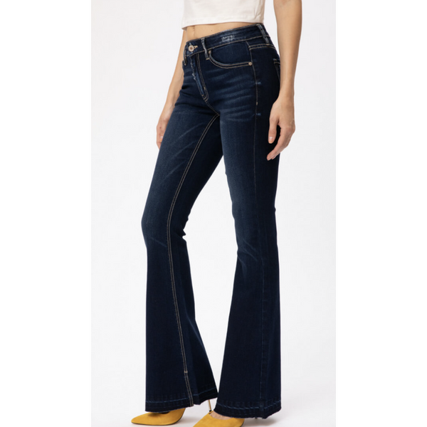 Ashley KanCan Flare Jeans-Four Sisters Boutique