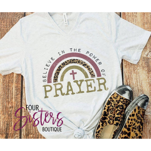 Believe Tee ***PREORDER***-Four Sisters Boutique