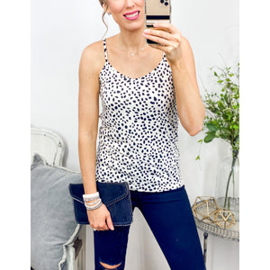 Ivory Leopard Tank-Four Sisters Boutique