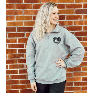 KC Quarter Zip ***PREORDER***-Four Sisters Boutique