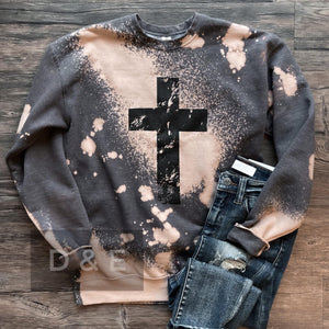 Gray Camo Vintage Top-Four Sisters Boutique