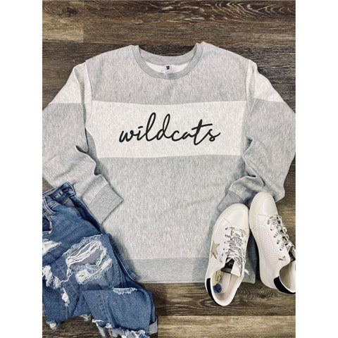 Wildcats Sweatshirt ***PREORDER***-Four Sisters Boutique