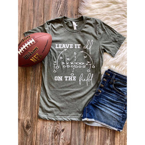 Leave It On the Field Tee-Four Sisters Boutique