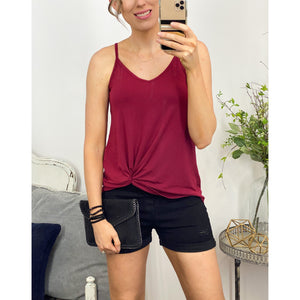Reversible Tank in Cabernet-Four Sisters Boutique