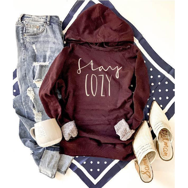 Stay Cozy Hoodie ***PREORDER***-Four Sisters Boutique