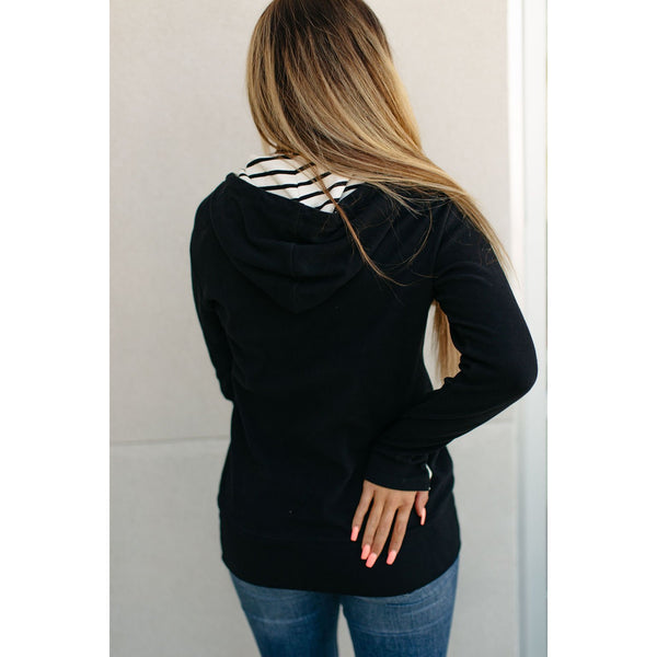 Ampersand Avenue HalfZip - Twist on Basic-Four Sisters Boutique