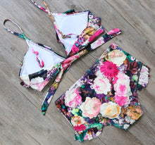 Sexy Floral Print Push Up Bikini - The Faddi - Sexy Clothes, Stylish Fashion