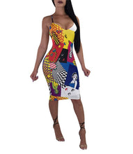 """Monroe Masterpiece"" Spaghetti Strap Dress - The Faddi Clothing Boutique - Sexy Club Party Clothes"