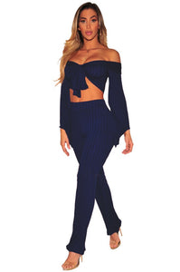"""Out Your League"" Two Piece Jumpsuit - The Faddi Clothing Boutique - Sexy Club Party Clothes"