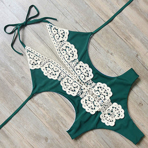 Sexy Lace Embroidered Swimsuit (4 Colors Available) - The Faddi - Sexy Clothes, Stylish Fashion