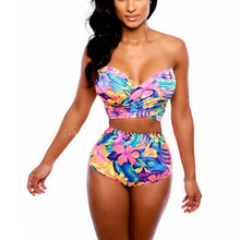 High Waist Floral Print Bikini - The Faddi - Sexy Clothes, Stylish Fashion