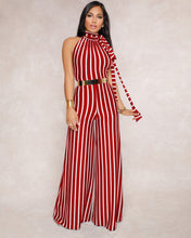 """Candyland"" Fashion Striped Jumpsuit - The Faddi Clothing Boutique - Sexy Club Party Clothes"
