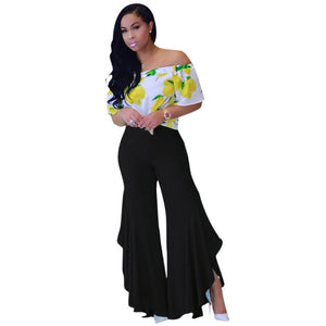 Fashion Ruffled Asymmetrical Pants (4 Colors Available) - The Faddi - Sexy Clothes, Stylish Fashion
