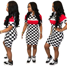 """Flag Me Down"" Bodycon Dress - The Faddi Clothing Boutique - Sexy Club Party Clothes"