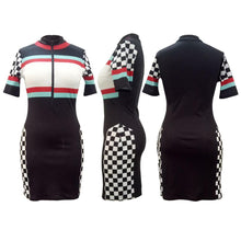 """Speedy Racer"" Sporty Dress - The Faddi Clothing Boutique - Sexy Club Party Clothes"