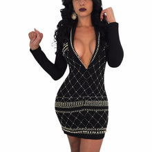 """Allure of Glamour"" Mini Dress - The Faddi Clothing Boutique - Sexy Club Party Clothes"