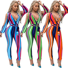 """Vivid Beauty"" Colorful Jumpsuit - The Faddi Clothing Boutique - Sexy Club Party Clothes"