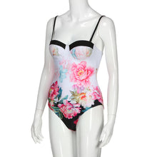 One Piece Floral Vintage Swimsuit - The Faddi - Sexy Clothes, Stylish Fashion