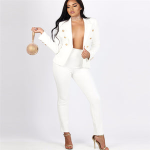 """Bossy"" Two Piece Fashion Suit - The Faddi Clothing Boutique - Sexy Club Party Clothes"