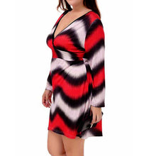 """Passion Wave"" Plus Size Fashion Dress - The Faddi Clothing Boutique - Sexy Club Party Clothes"